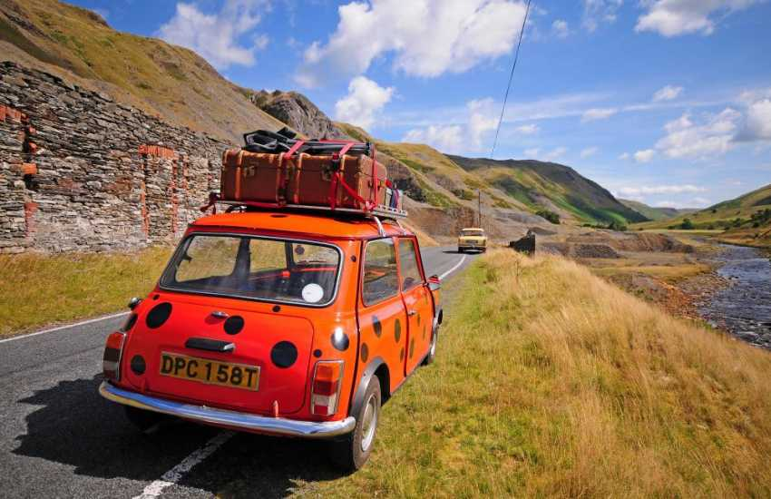 The scenic roads between Devils Bridge and Rhayader are well worth exploring