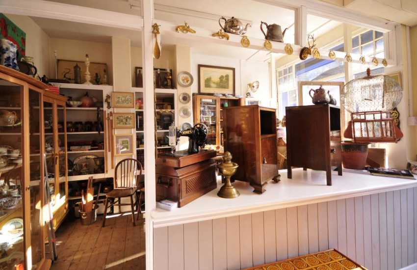 Rhayader has several antique shops to look around