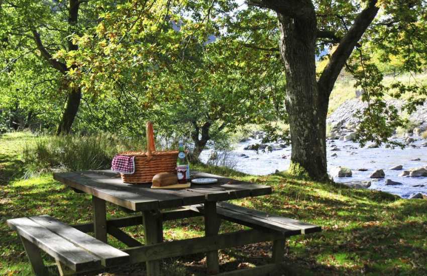 Enjoy river walks near the Elan Valley visitor centre