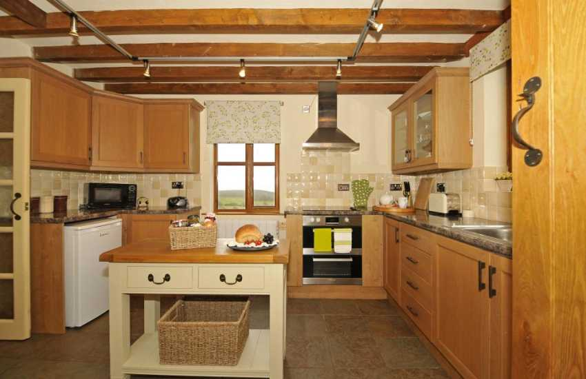 Walkers holiday cottage Wales - kitchen