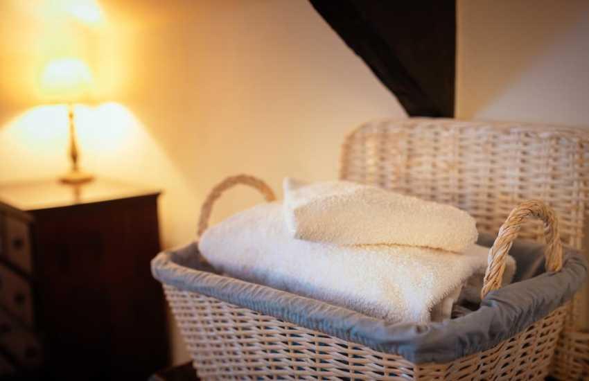 Break away for two in Wales - towels
