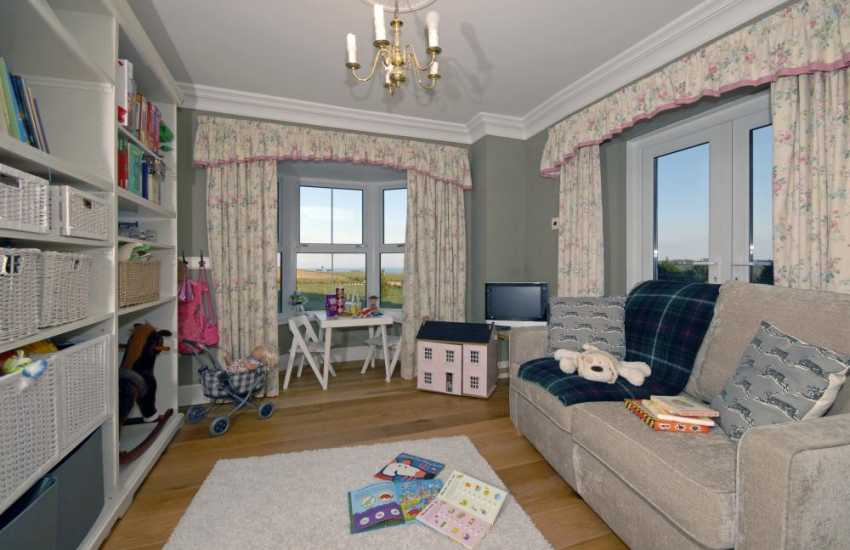 Pembrokeshire family holiday home – children's play-room