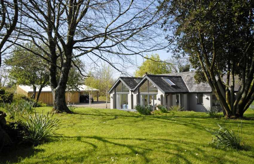 Pembrokeshire holiday cottage with 2 acres of gardens and a wild meadow