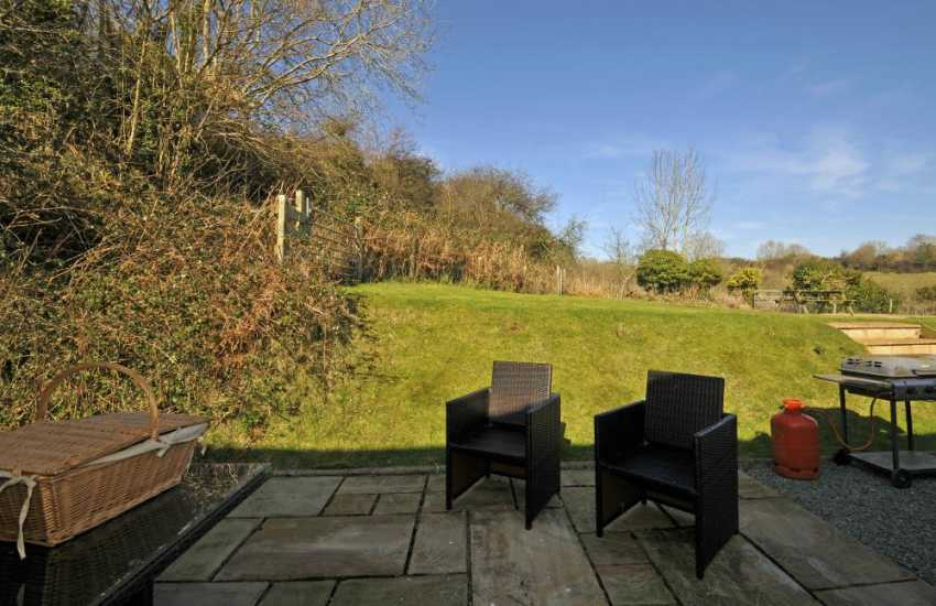 Walkers holiday cottage Anglesey - garden