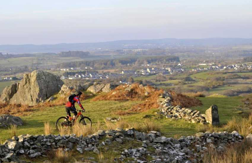 Wild Snowdonia, perfect terrain for cyclists and walkers