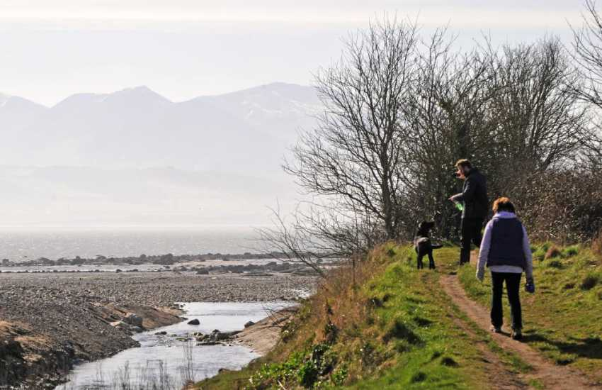 Anglesey coastal walks Penmon