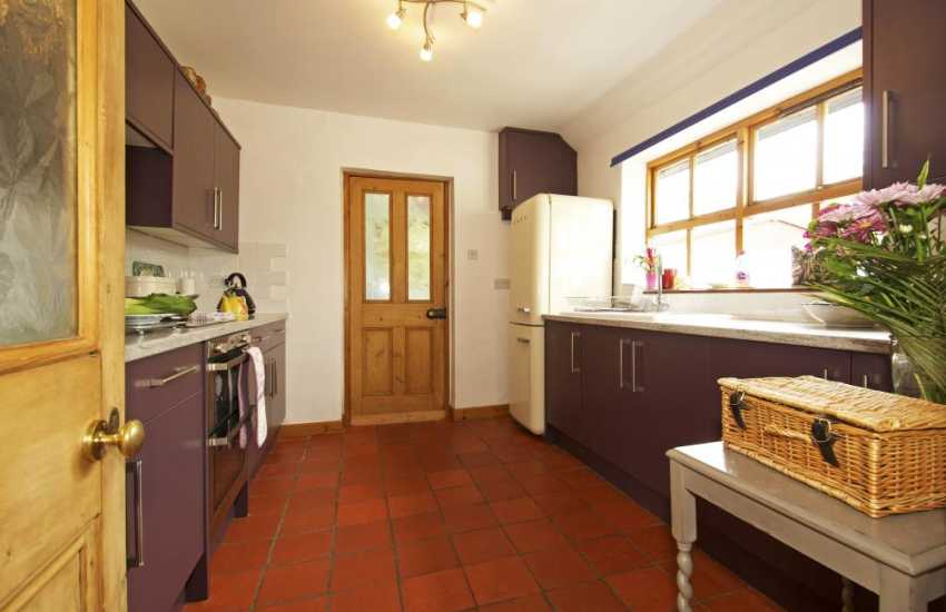 Aberystwyth holiday cottage - kitchen