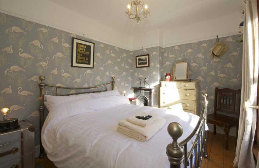 Aberystwyth holiday cottage - bedroom
