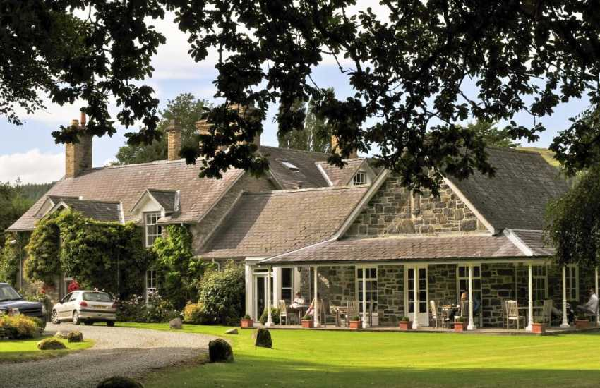 Tyddyn Llan restaurant in Llandrillo is considered one of Wale's finest