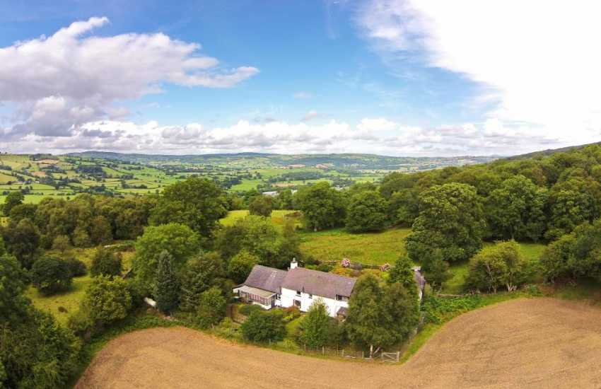 Holiday cottage Corwen - ext
