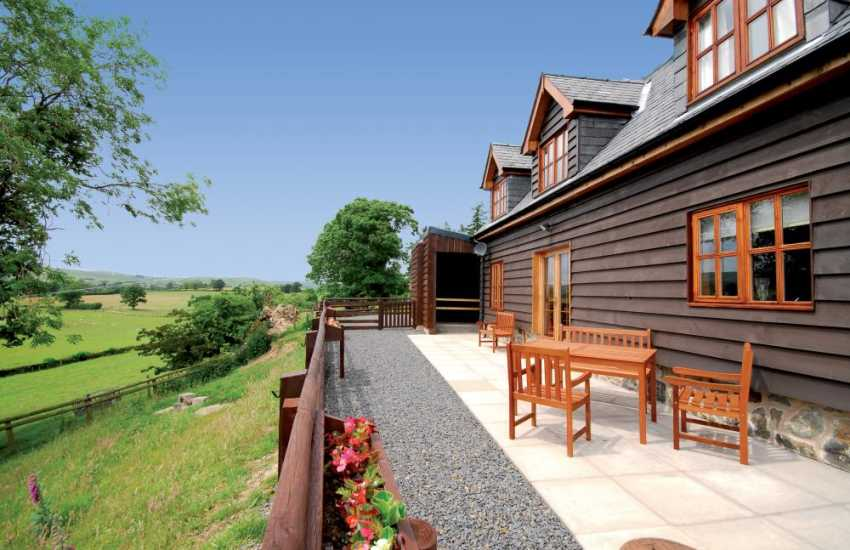 Cottage with views in rural Wales