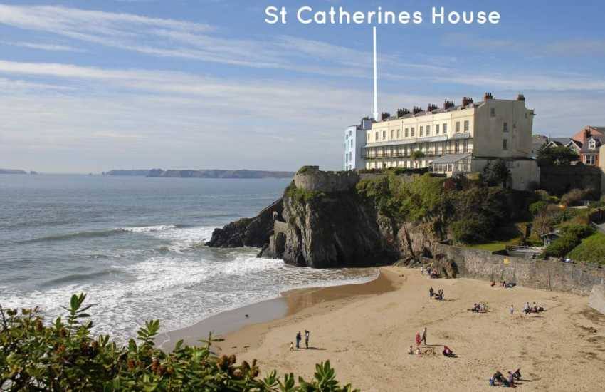 Tenby Holiday Home Over Looking Castle Beach