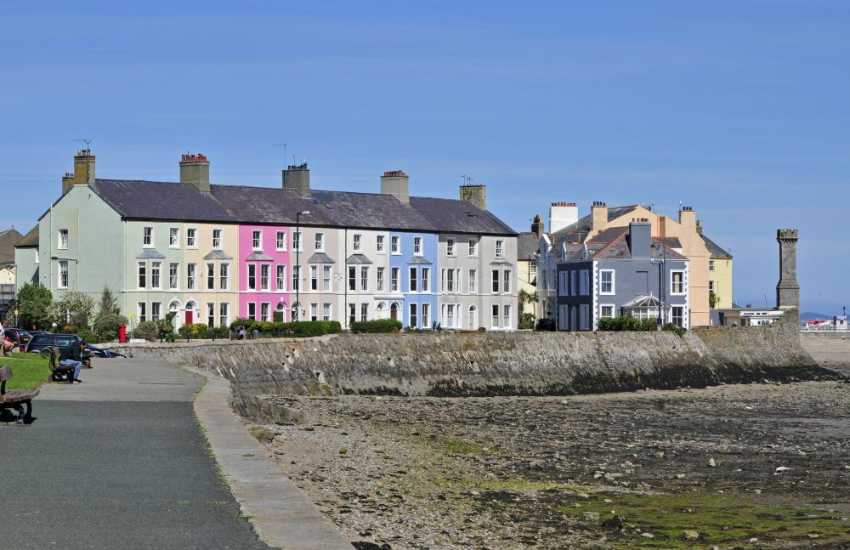 Beaumaris seaside town on the Menai Strait