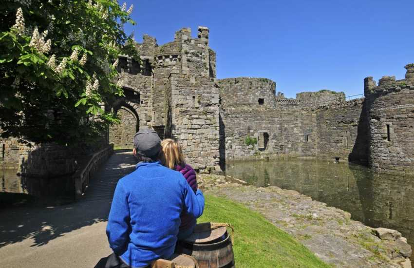 Beaumaris medieval Castle - open all year round