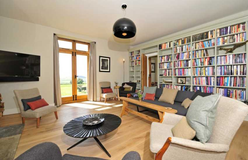 Hay on Wye luxury accommodation - lounge