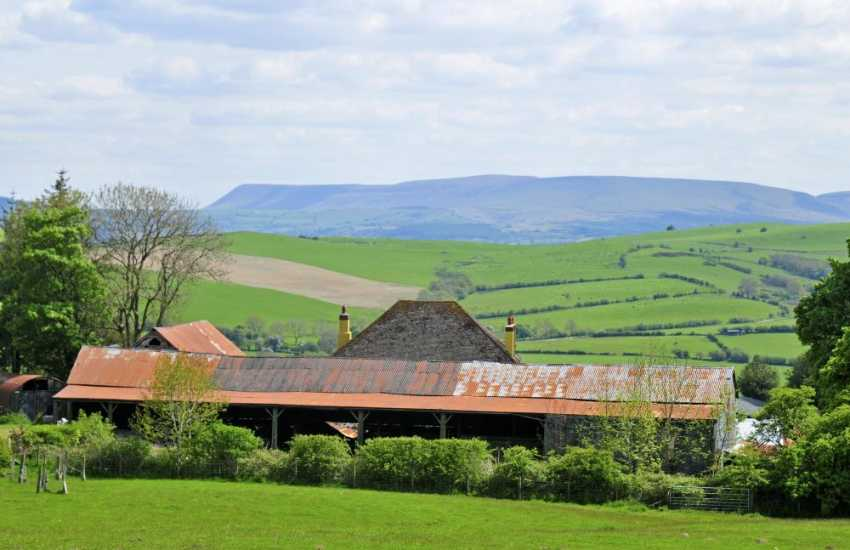 Hay on Wye self catering house - ext