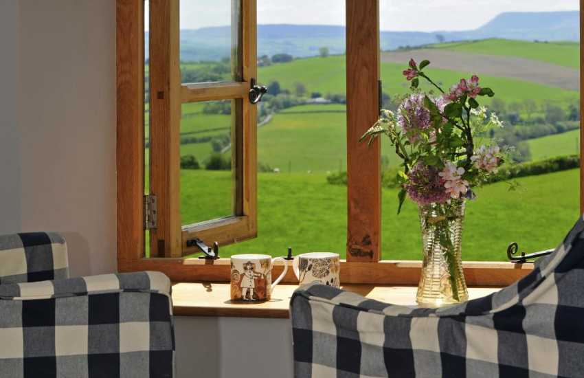 Hay on Wye holiday cottage - view