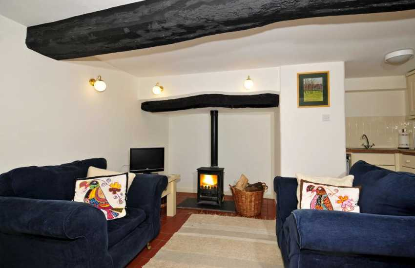 Cottage for 2 Conwy Valley - lounge