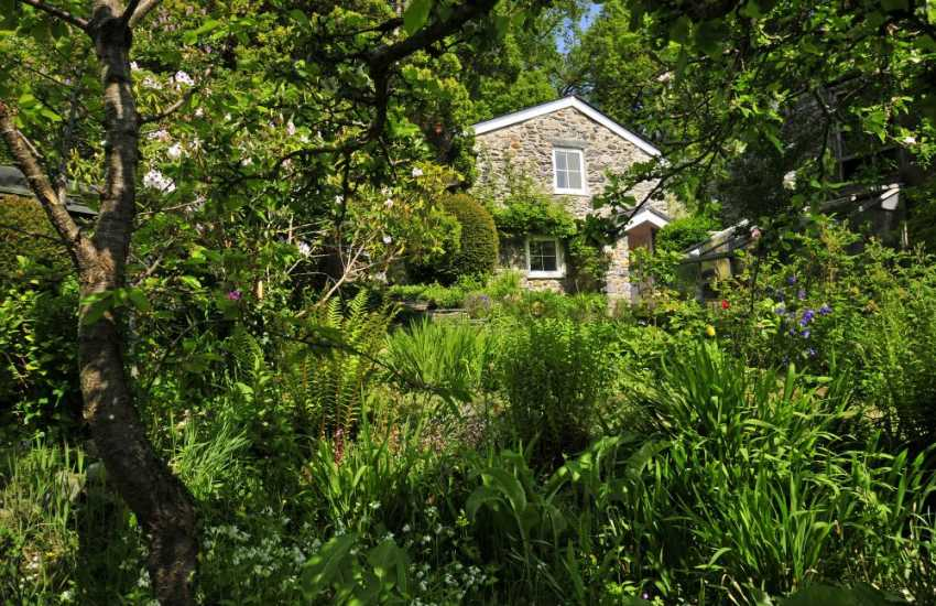 Conwy Valley holiday cottage - ext