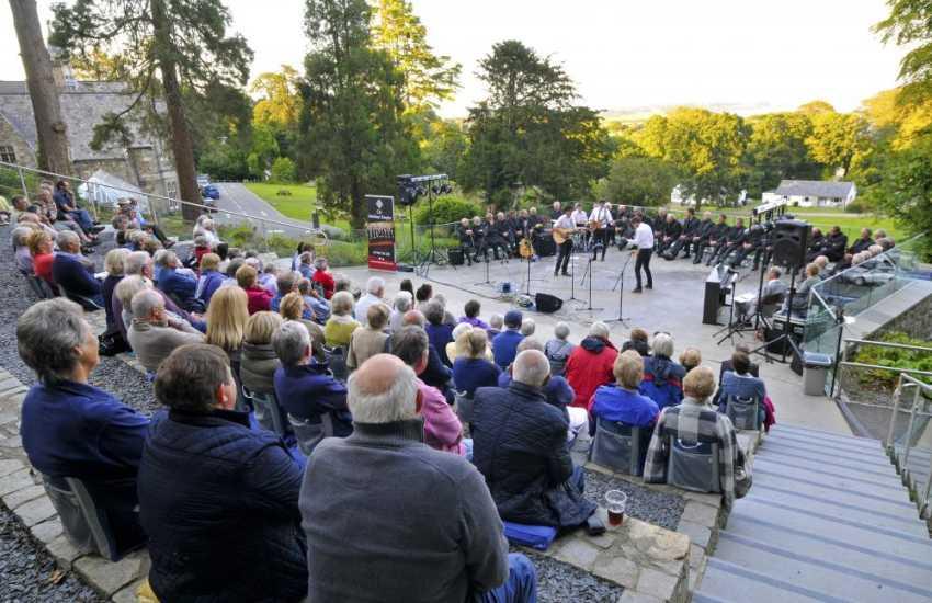Outdoor events at Plas Glyn y Weddw, Llanbedrog