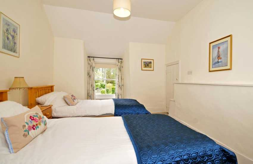 North Wales holiday cottage  -  bedroom