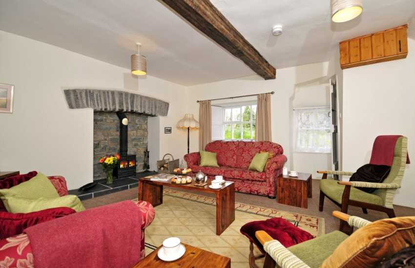 Dog friendly cottage Wales - lounge