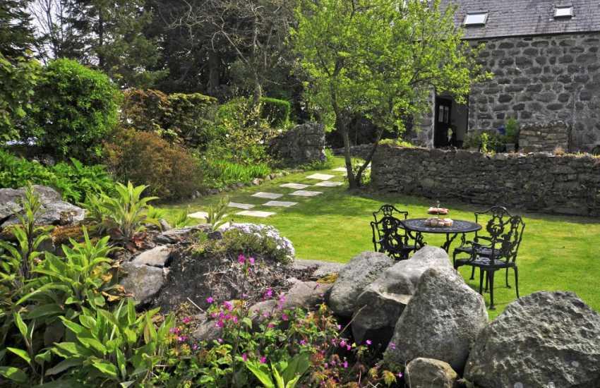 North Wales cottage - garden