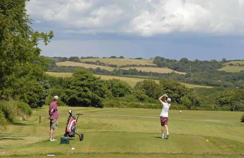 Pembrokeshire has a variety of fabulous golf courses to choose from - all within an easy drive