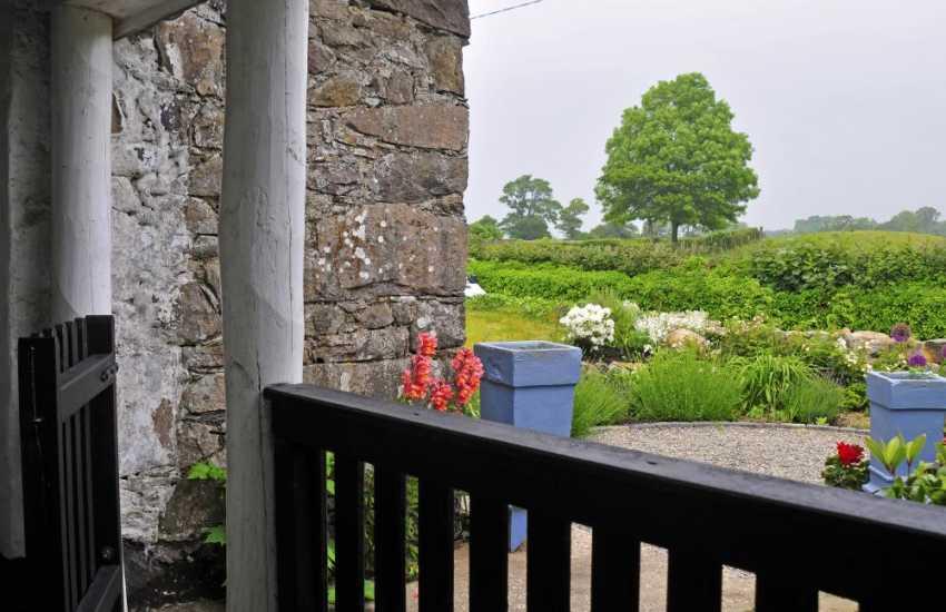 Romantic cottage wales - view