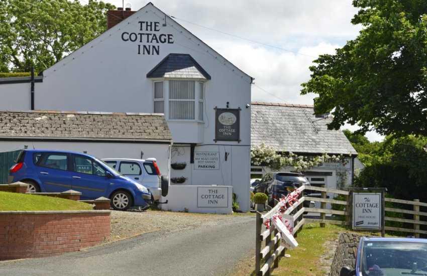 The Cottage Inn in Llangwm (good bar food)