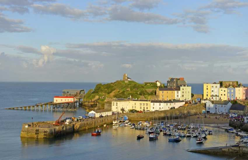 Do visit Tenby a bustling Victorian seaside resort with 5 fabulous beaches.