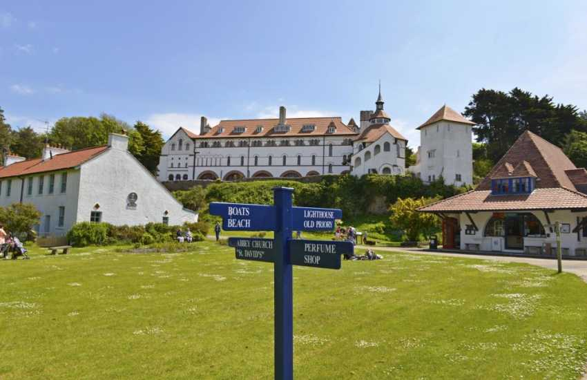 Visit Caldey Island with its Cistercian Monastery overlooking the village green. Try the famous chocolate made by the monks and enjoy the unique atmosphere of timelessness and peace
