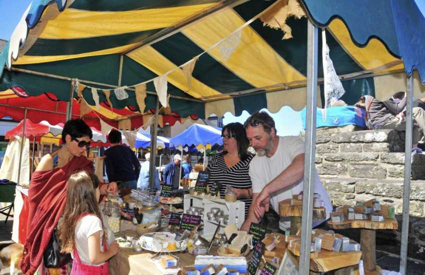 Don't miss St Davids weekly farmers market is held in Cross Square - all sorts of local produce and tasty morsels on offer.