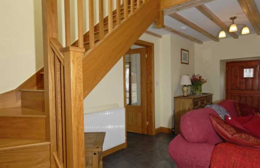 Amroth holiday home - stairwell