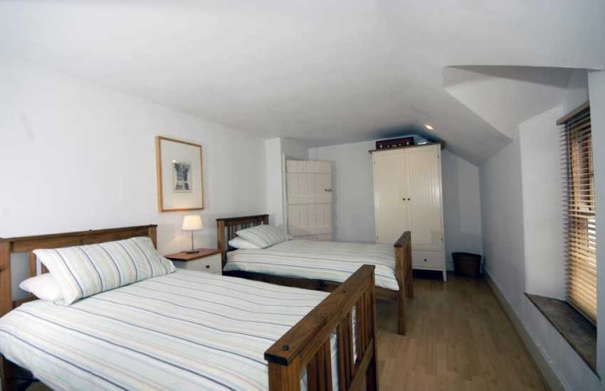 Holiday cottage in Pembrokeshire - twin room