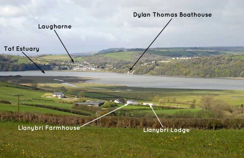 Views over to Taf Estuary