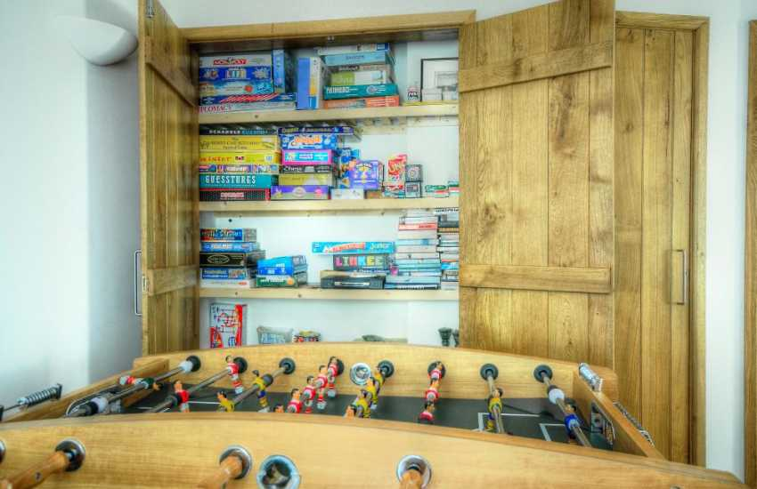 Carmarthenshire holiday cottage - games