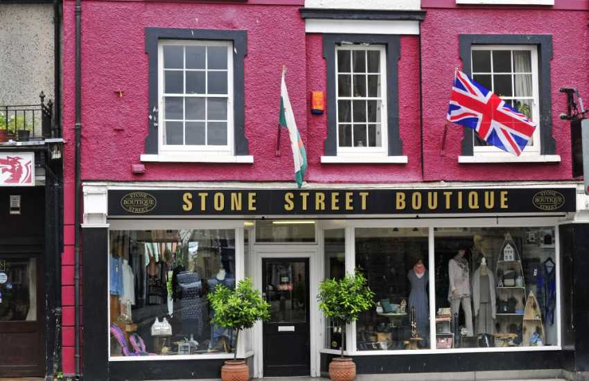 Llandovery boutique is one of many individual shops around the town square