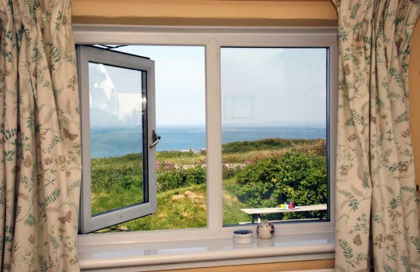 Wake up to stunning sea views from the master bedroom