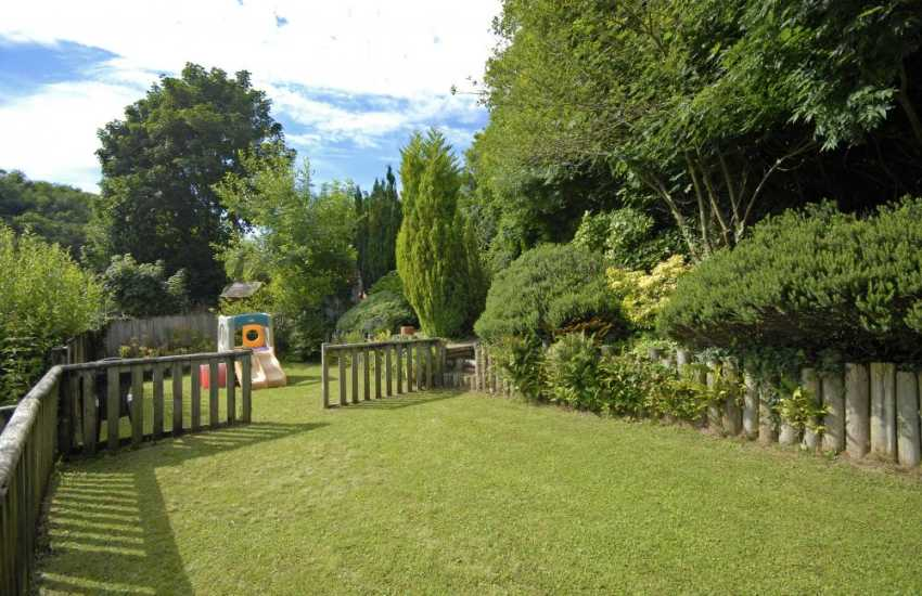 Dog friendly holiday home with large enclosed gardens