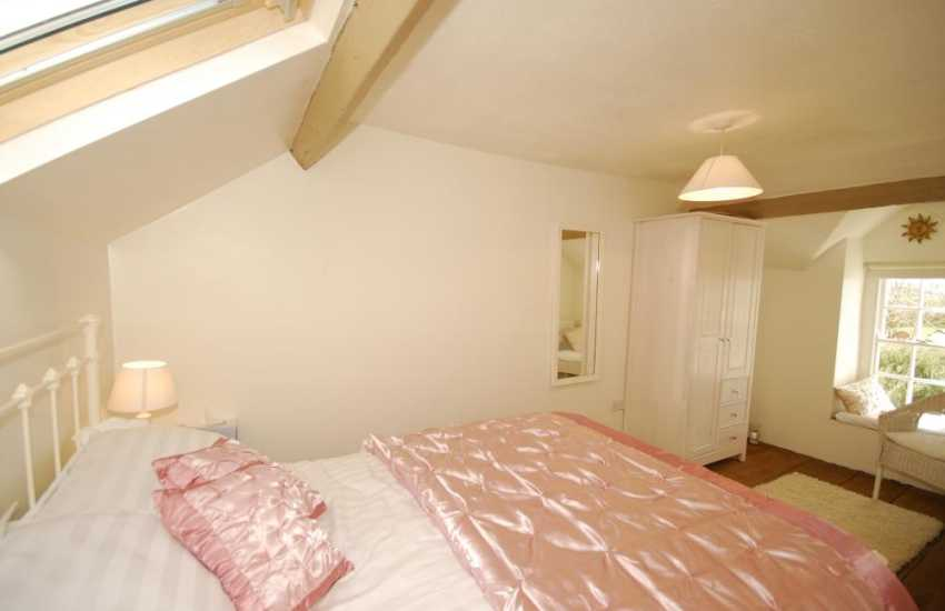 North Wales holiday cottage bedroom
