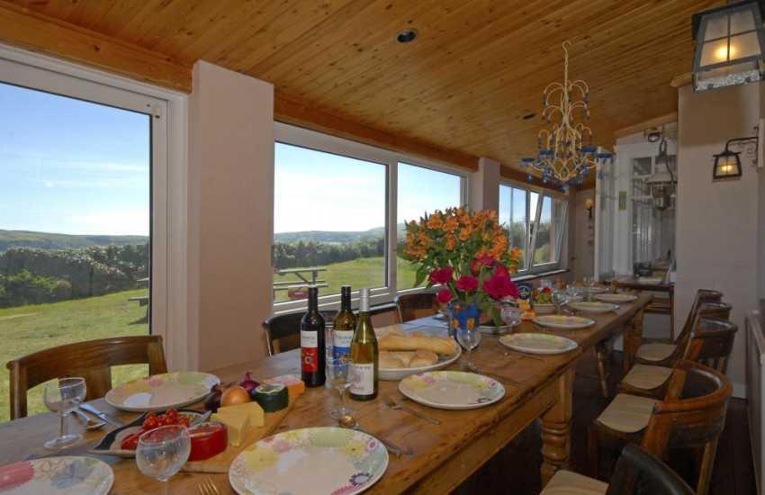 St Davids, Pembrokeshire-dining area