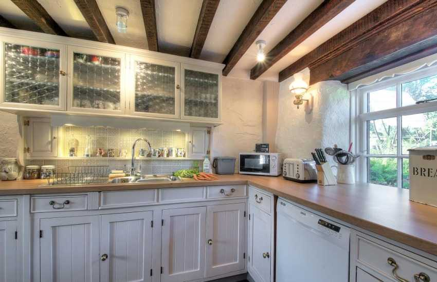 North Wales pet friendly cottage - kitchen