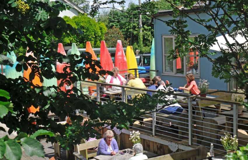 River cafe & canoe hire Glasbury