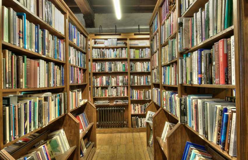 Amazing book shops in Hay on Wye