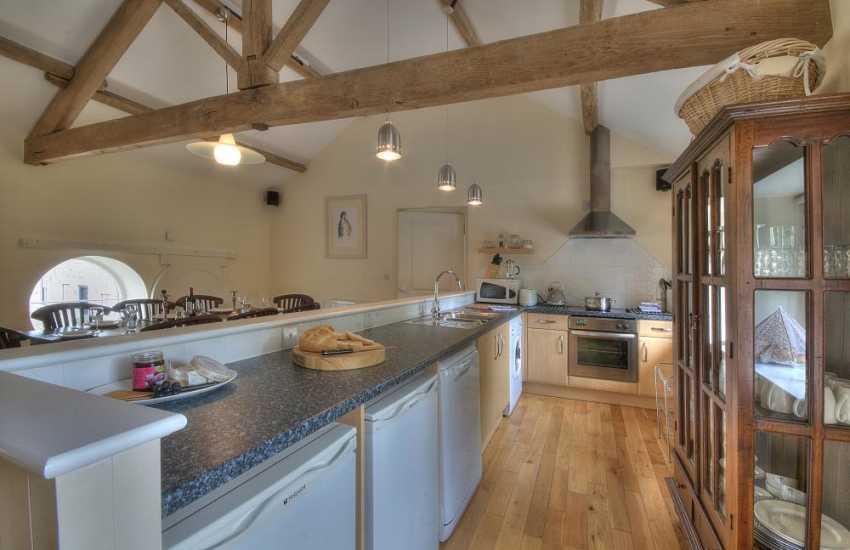 Holiday cottage Glasbury - kitchen