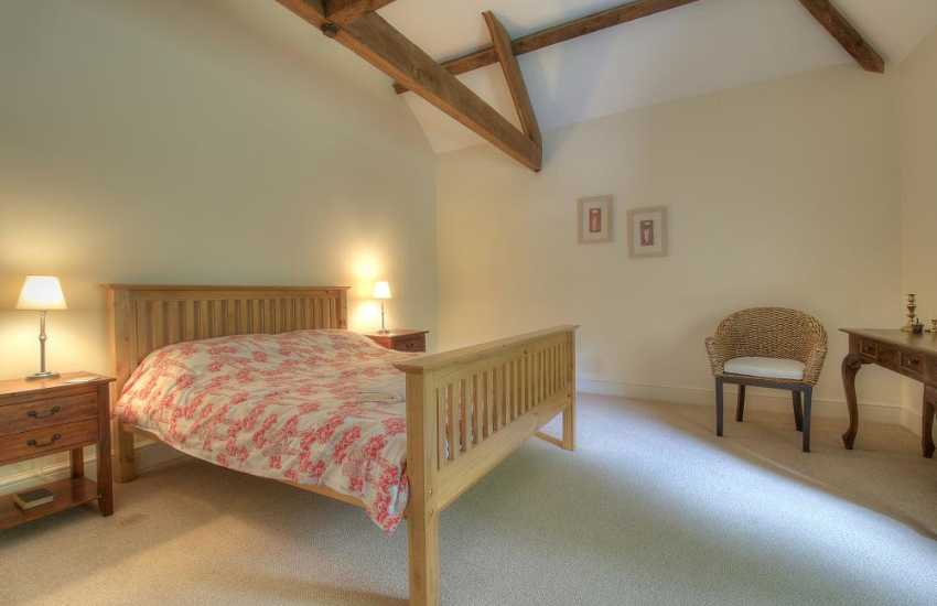 Pet friendly cottage Mid Wales -  bedroom