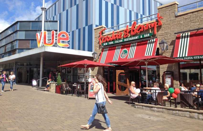 The County town of Carmarthen has a traditional indoor market, department stores, boutiques, leisure centre, museum and an Apollo cinema