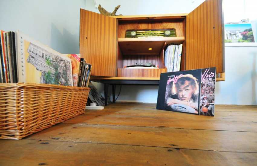 Fantastic record collecting in lleyn holiday cottage