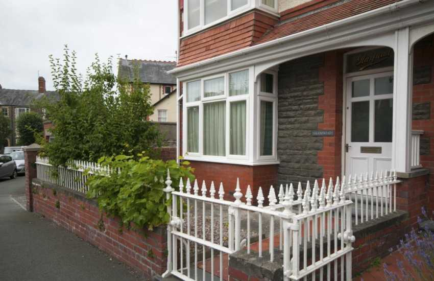 Aberystwyth town centre holiday house - ext
